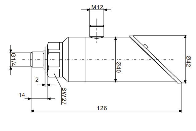 FGP37S传感器尺寸图