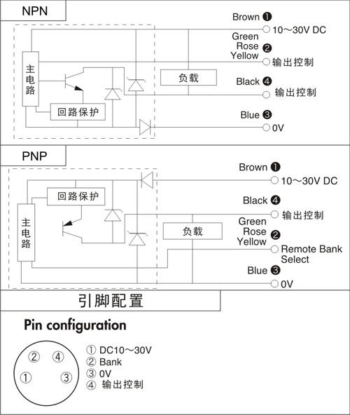 fc-18n色标传感器接线图