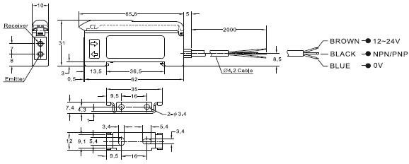 传感器-光纤放大器-ff-11系列-传感器尽在阿里巴巴