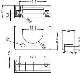 FSC3430-N/N2/P/P2安装支架