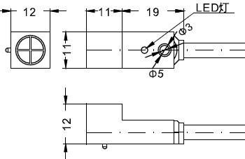 FSNM04系列高重复精度接近开关图
