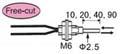 漫反射型凸管耐高温光纤管