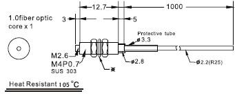 耐高温光纤管FFTH-410