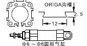 Applications of FD-15series magnetic sensors